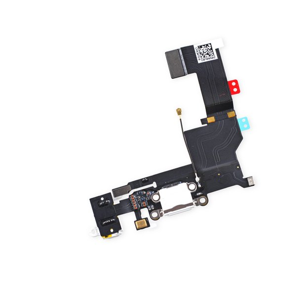 iPhone 5s Lightning Connector and Headphone Jack / New / White / Part Only