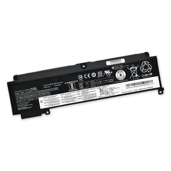 Lenovo T460s Rear Battery / Part Only