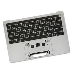 "MacBook Pro 13"" Retina (Mid 2018-2019) Upper Case Assembly / A-Stock / Dark Gray"