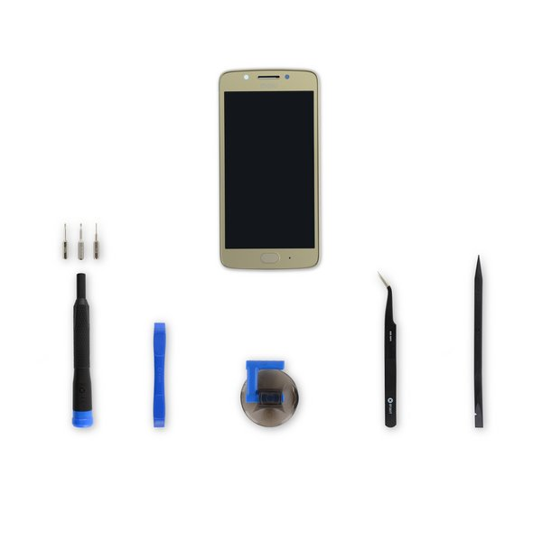 Moto G5 Screen / Gold / Fix Kit