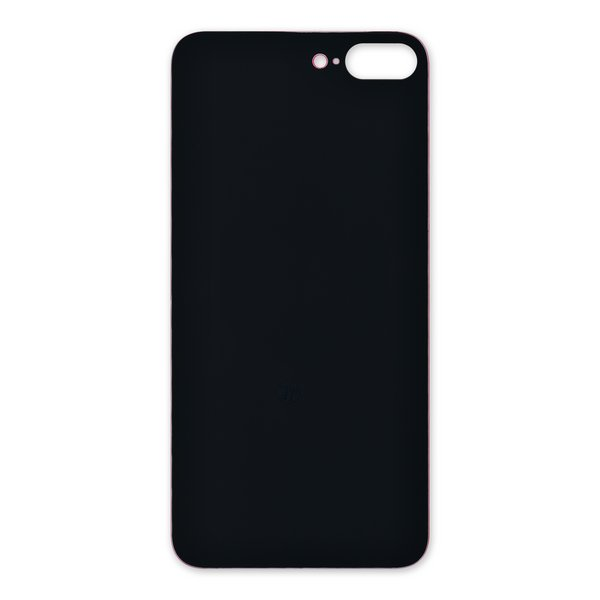 iPhone 8 Plus Aftermarket Blank Rear Glass Panel / Red