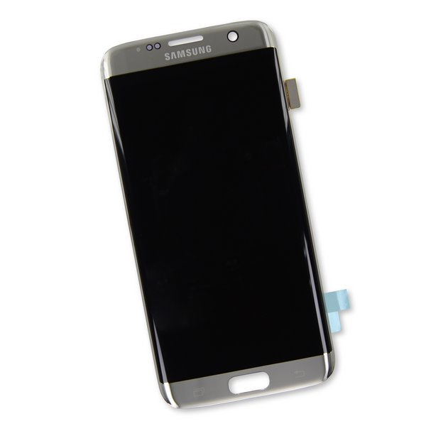 Galaxy S7 Edge Screen / Silver / Part Only