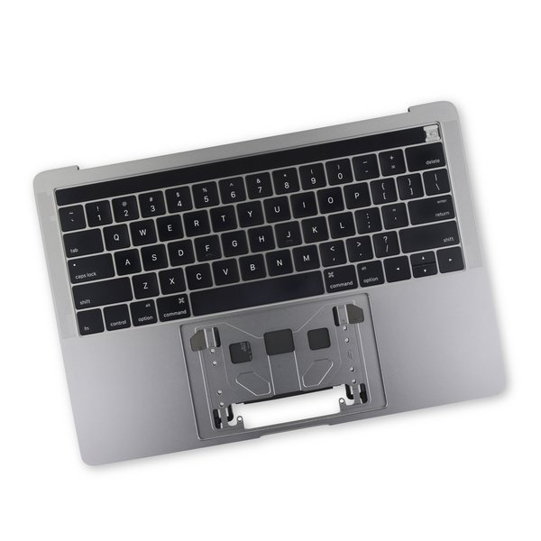 "MacBook Pro 13"" Retina (Touch Bar, Late 2016-2017) Upper Case Assembly / A-Stock / Dark Gray"