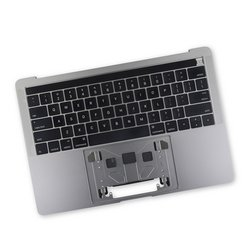 """MacBook Pro 13"""" Retina (Touch Bar, Late 2016-2017) Upper Case Assembly / A-Stock / Dark Gray"""