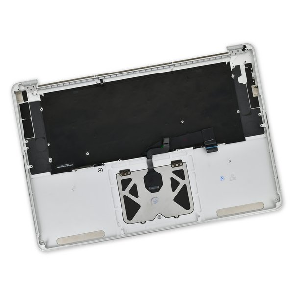 "MacBook Pro 15"" Retina (Late 2013-Mid 2014) Upper Case Assembly / A-Stock / With Trackpad, Without Battery"