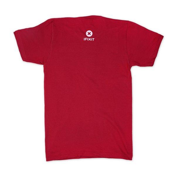 Never Take Broken T-Shirt / Men's Small / Cranberry