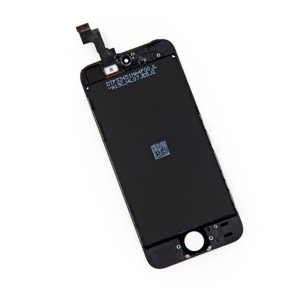 iPhone 5s LCD and Digitizer / New, Premium / Part Only / Black