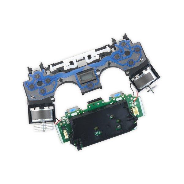 DualShock 4 Controller Motherboard and Midframe Assembly (JDM-020)