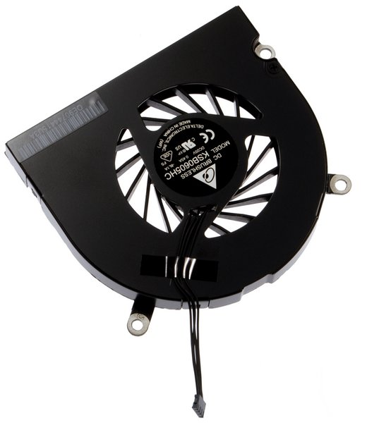 "MacBook Pro 15"" Unibody (2.53 GHz Mid 2009) or 17"" Unibody (Early/Mid 2009) Right Fan"