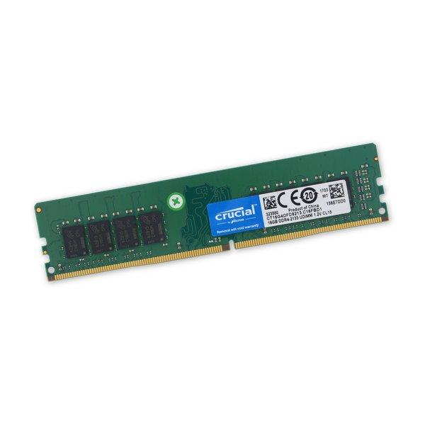 PC4-17000 (DDR4-2133 Desktop) 16 GB RAM DIMM Chip / Used