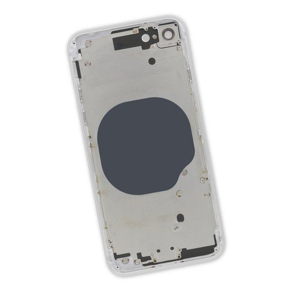 iPhone 8 Aftermarket Blank Rear Case / Silver
