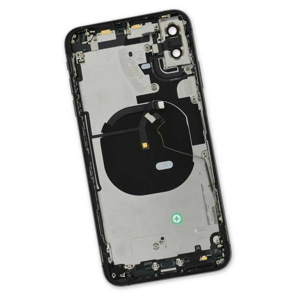 iPhone XS Max OEM Rear Case / A-Stock / Black