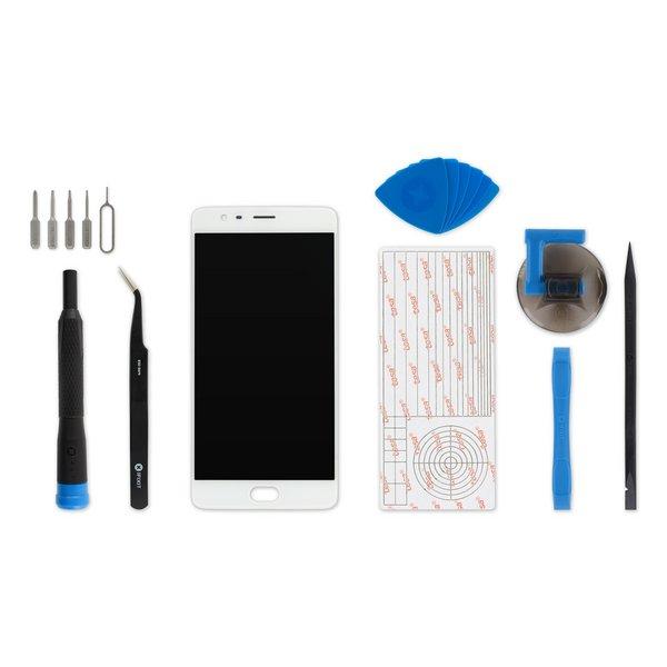 OnePlus 3 Screen / Fix Kit / White