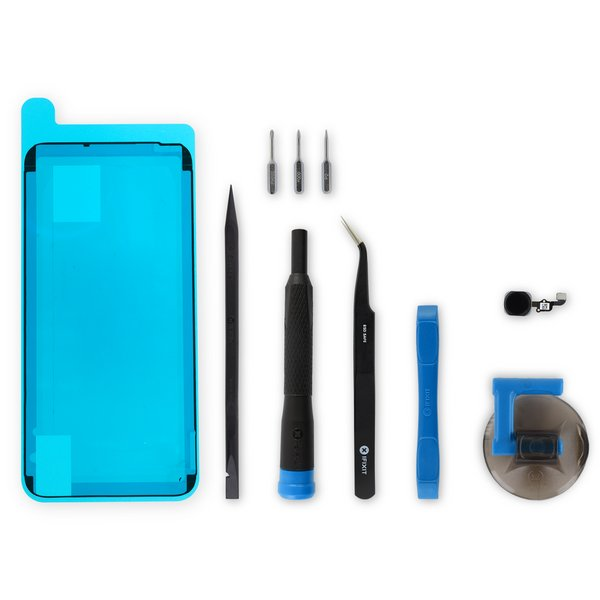 iPhone 6s Plus Home Button Assembly / New / Black / Fix Kit