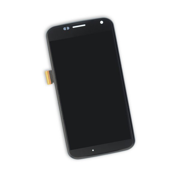 Moto X Screen / Black / Part Only