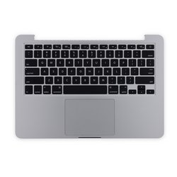 "MacBook Pro 13"" Retina (Late 2012-Early 2013) Upper Case Assembly / With Trackpad, Without Battery / New"