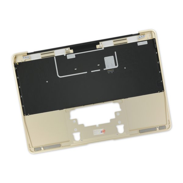 """MacBook 12"""" Retina (Early 2015) Upper Case with Keyboard / A-Stock / Gold"""