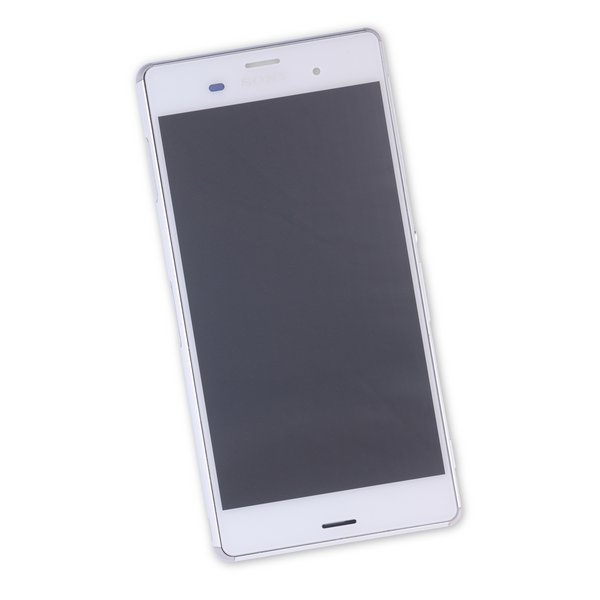 Sony Xperia Z3 Screen Assembly / White / Part Only