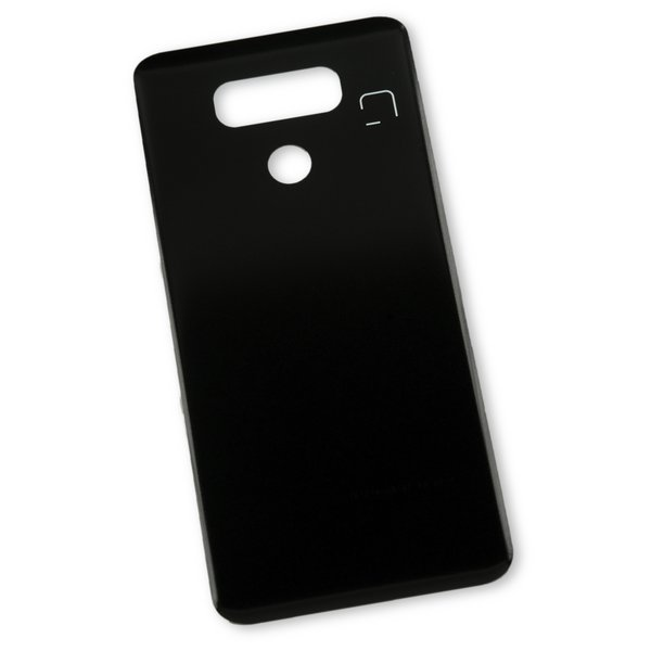 LG G6 Rear Glass Panel / Black