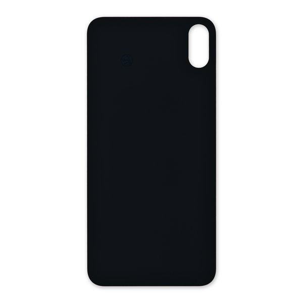 iPhone XS Max Aftermarket Blank Rear Glass Panel / Gold