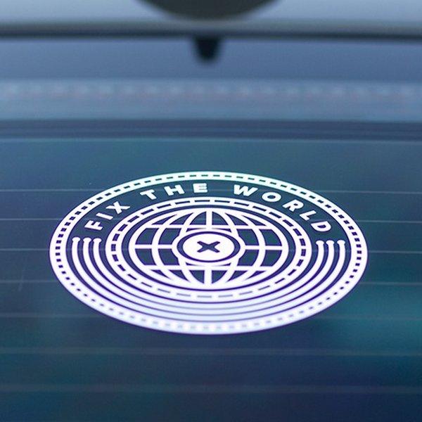 Fix the World Transfer Sticker