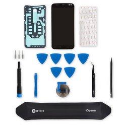 Moto X Pure Edition Screen / Black / Fix Kit v3 / driver + SIM Tool