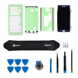 Galaxy S6 Edge+ Screen / Black / Fix Kit v3 / driver + SIM Tool