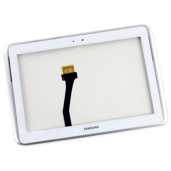 Galaxy Note 10.1 (2012) Digitizer / White / A-Stock