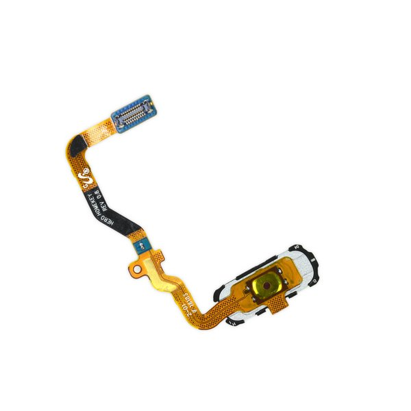 Galaxy S7 Home Button and Cable Assembly / Black / New