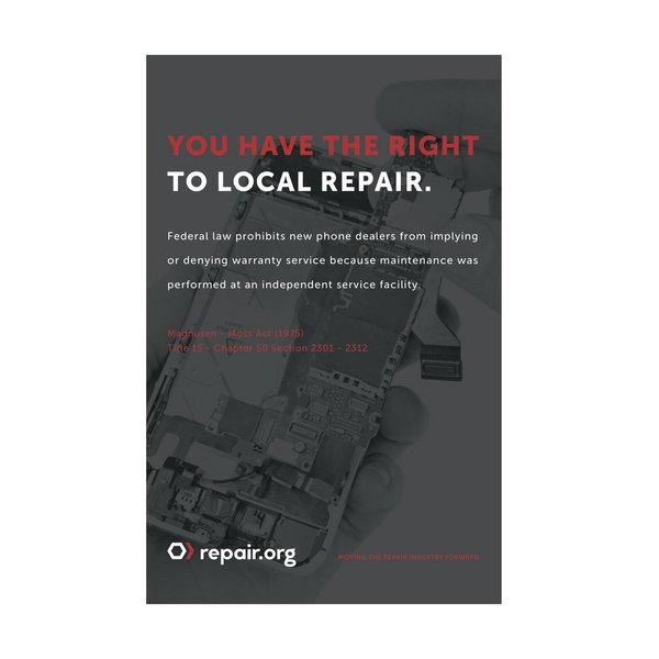 Right to Repair Poster