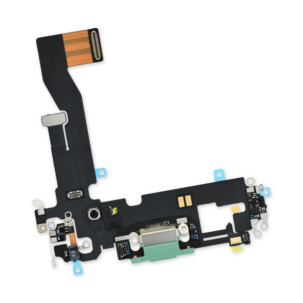 iPhone 12/12 Pro Lightning Connector Assembly / Green