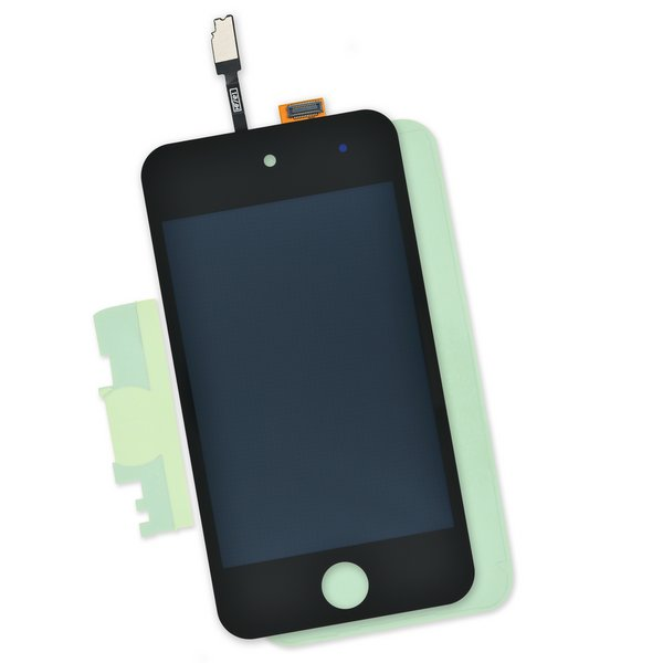 iPod touch (4th Gen) Screen / Part and Adhesive / Black / New