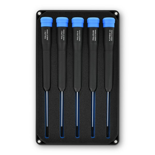 Marlin Screwdriver Set - 5 Standard Precision Screwdrivers / iFixit - Made in Taiwan