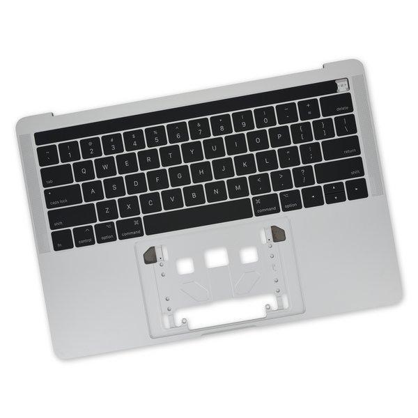 "MacBook Pro 13"" Retina (Touch Bar, Late 2016-2017) Upper Case / New / Silver"