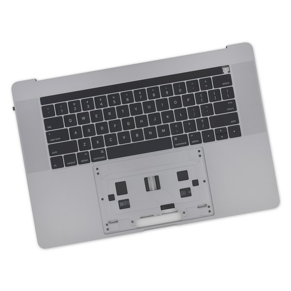 "MacBook Pro 15"" Retina (Late 2016-2017) Upper Case Assembly / A-Stock / Dark Gray"