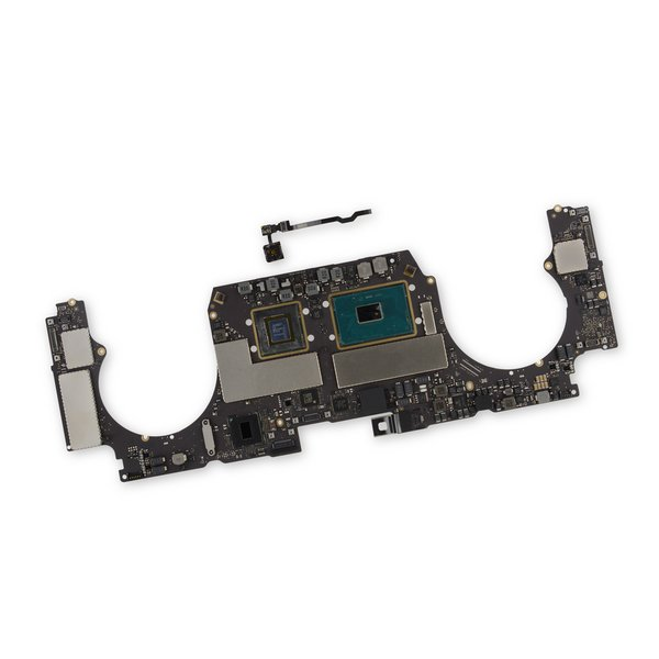 """MacBook Pro 15"""" Retina (2017) 2.8 GHz Logic Board, Radeon Pro 555, with Paired Touch ID Sensor / 256 GB SSD"""