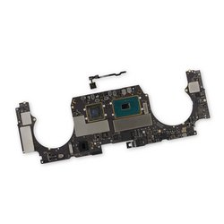 "MacBook Pro 15"" Retina (2017) 2.8 GHz Logic Board, Radeon Pro 555, with Paired Touch ID Sensor / 256 GB SSD"