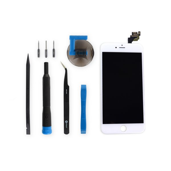 iPhone 6 Plus Screen / New / Fix Kit / White