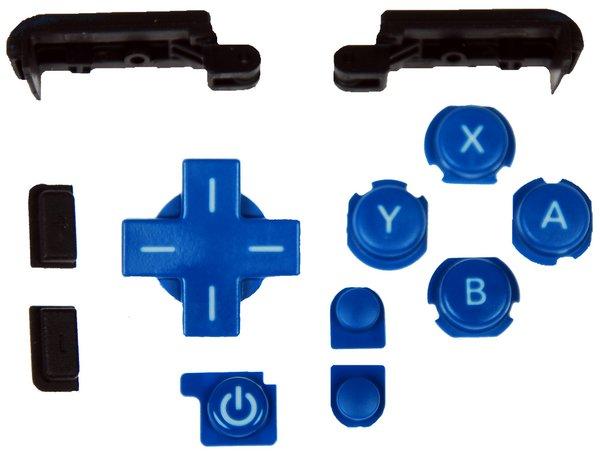 Nintendo DSi XL Input Buttons / Blue