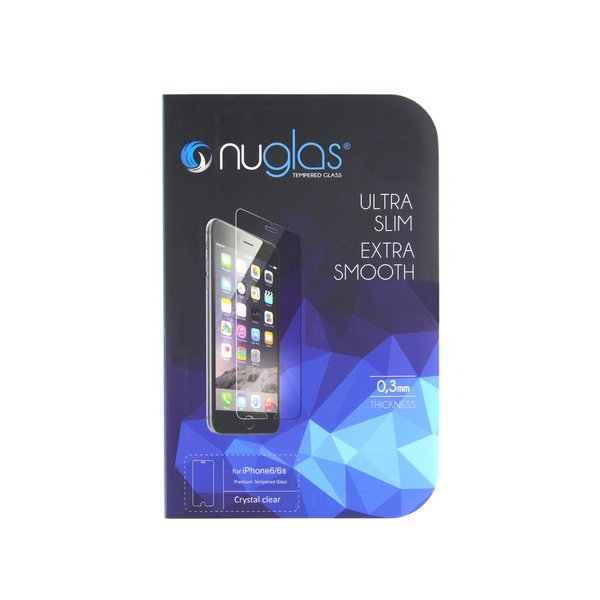 NuGlas Tempered Glass Screen Protector for iPhone 6/6s