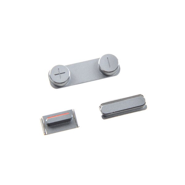 iPhone 5s/SE (1st Gen) Case Button Set / Silver