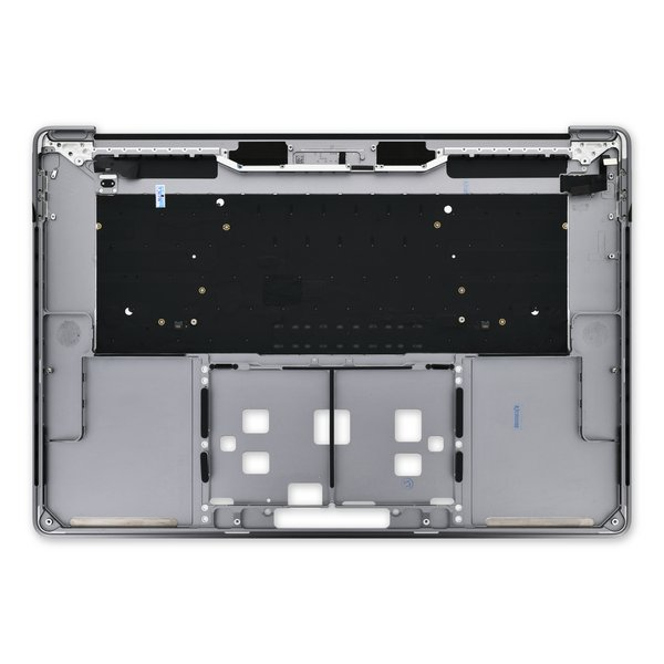 "MacBook Pro 15"" Retina (Mid 2018-2019) Upper Case / A-Stock / Dark Gray"