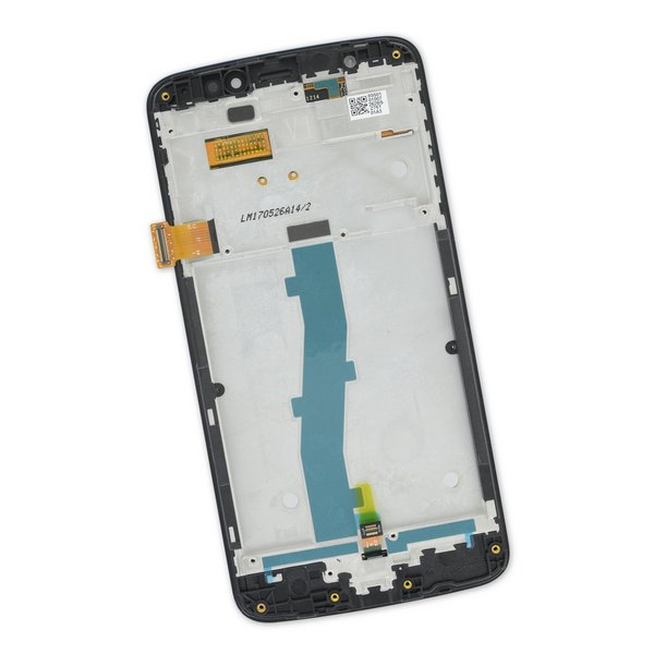 Moto E4 (XT1766) Screen / Blue / Part Only