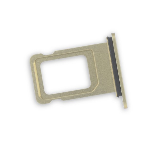 iPhone XR Single SIM Card Tray / Yellow