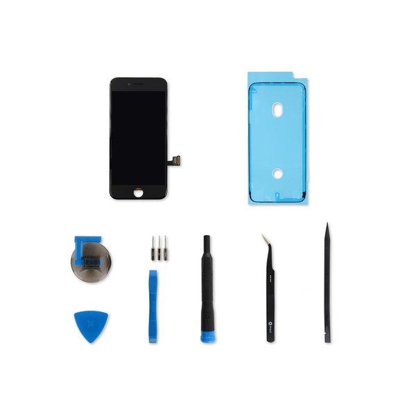iPhone 8 Screen / Black / Fix Kit