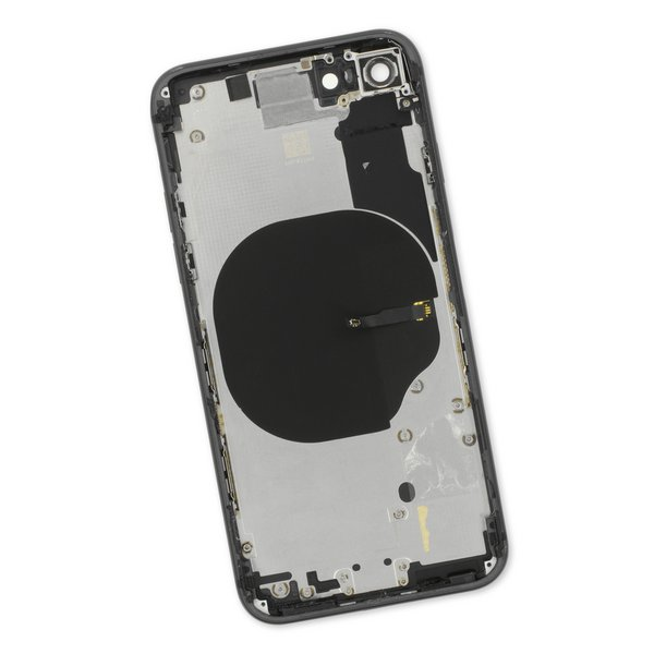 iPhone 8 OEM Rear Case / Black / A-Stock