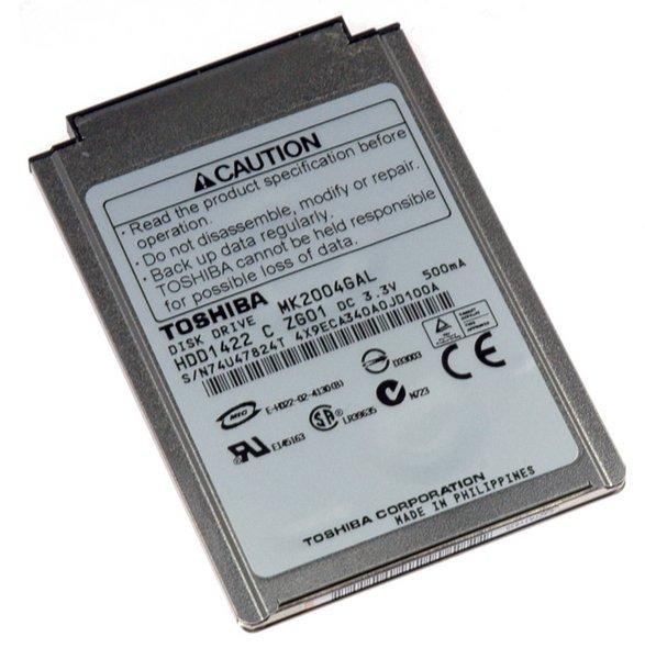 iPod 20 GB Hard Drive / Without Padding / New