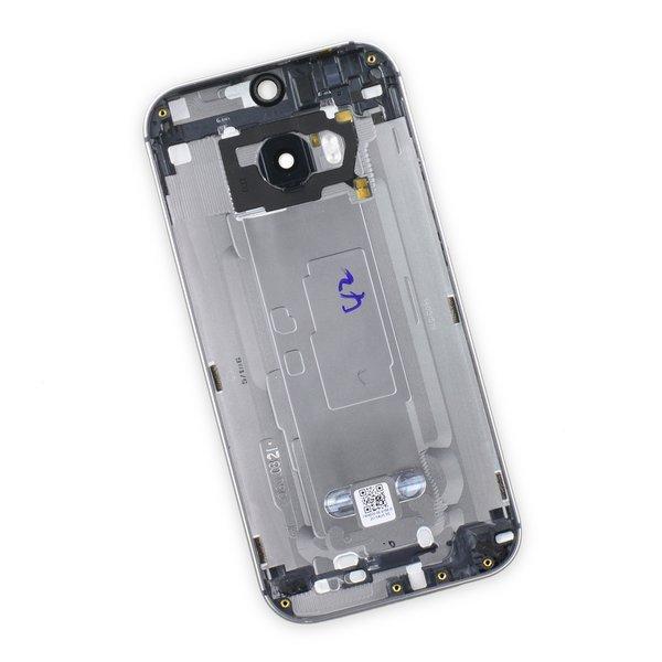 HTC One (M8, Verizon) Rear Case / Gray / A-Stock