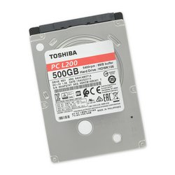 "500 GB 5400 RPM 2.5"" Hard Drive / Toshiba"