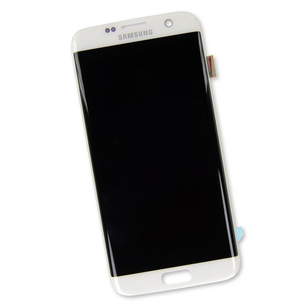 Galaxy S7 Edge Screen / White / Part Only